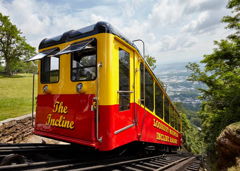 The Incline Railway at Lookout Mountain