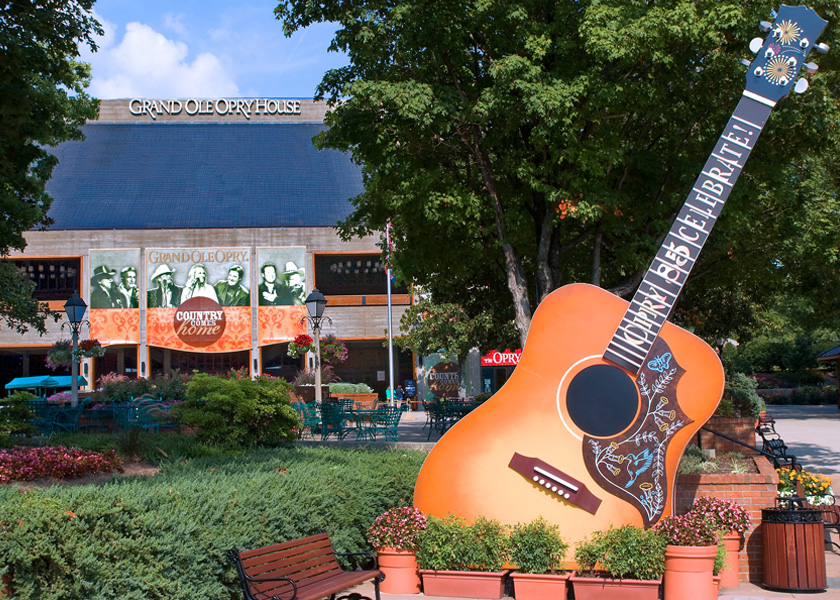 Grand Ole Opry Main Entrance